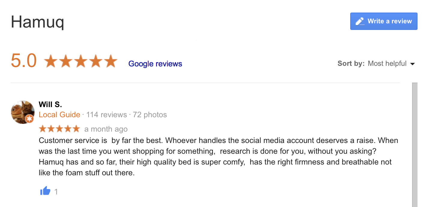 hamuq google reviews